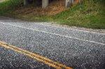 nowa nawierchnia asfaltu