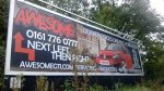 reklama zewnętrzna- billboard