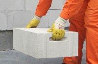Bloczki z betonu komórkowego są lekkie i wytrzymałe.
